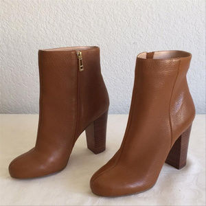 Charles David Brown Ankle Boots/Booties